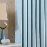Tenda di finestra solida di mancanza di corrente elettrica del poliestere di sensibilità della mano molle (20W0003)