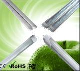 UL DLC Compatible TUBO LED 18W 140lm/W LED de vidrio tipo tubo, A+B 4FT LED 18W con el controlador de la luz del tubo interno de 5 años de garantía