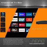 Nouvelle connexion Wi-Fi Bt Android 6.0 IPTV Smart TV Box basée sur le processeur Cortex A53 64bit. 1 Go + 16 Go