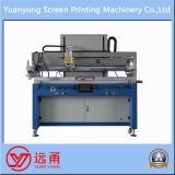 Impressora semiautomática da tela de seda de base lisa