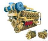 海洋エンジン(700~2200Kw)の水によって冷却される軽量の低い燃料消費料量シリーズ6000の