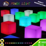 LEDを変更する庭の家具カラーは立方体をつける