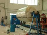 Tipo horizontal FRP ou de tanque de GRP máquina de enrolamento