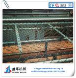 Galvanizde Draht-automatische Kettenlink-Zaun-Maschine