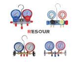 계기, 압력 계기, R12/R22/R134/R407/R507/R410를 골라내십시오
