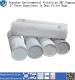 Polyester filtrant les sachets filtre de la poussière matérielle, sachet filtre de la poussière de polyester