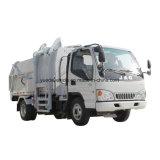 Camion di immondizia laterale di caricamento con il telaio di JAC