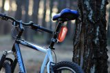 Long Standby Time Waterproof LED Light GSM GPS Tracker para Bike Easy Hidden Bike Trail GPS Tracker