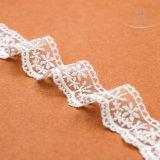 L40002 garniture de lacet de lait de largeur de la maille 3.5cm pour des robes de femmes