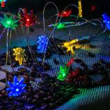 De multi Batterij van het Zeewier van de Kleur stelde 30 Micro LEDs op Decor 10 van de Voet Lange LEIDENE van het Koper Partij van het Sterrige Koord het Lichte in werking