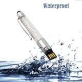 Crystal Stylus Presentes Touch Pen USB Flash Drive U Disk
