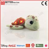 Brinquedo macio animal enchido bonito do luxuoso da tartaruga da água