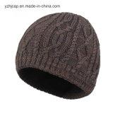 Шлем Beanie шлема шлема POM Knit шлема Beanie жаккарда связанный POM