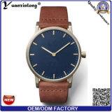 Yxl-093 новые поступления высокое качество логотипа OEM/ODM мужчин кожаные посмотреть очаровательное Vogue рекламных роскошь кварцевые часы