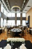 Fabricant Meilleur Restaurant de style italien en bois cintré Salle à manger ensemble