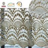 波状の綿の高品質E10002の化学レースファブリック衣服のアクセサリ