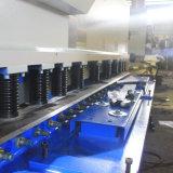 QC12k 탄소 강철 E21s 관제사 시스템을%s 가진 유압 그네 Beam10*6000 NC 깎는 기계