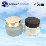 유리제 크림 단지를 위한 45mm 알루미늄 모자