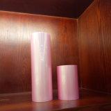 Розовый цвет материала передача тепла тиснение фольгой пленки для упаковки