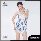 La moda Crochet Chaleco ropa para mujer