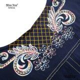 Miss You Ailinna 470.138 mujeres Medio de longitud vestido impreso floral tejida
