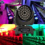 Zoom / Wash 36X10W LED Movimiento Head Stage Iluminación