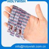 Полоса партии изготовленный на заказ полиэфира печатание ткани эластичная для головного убора
