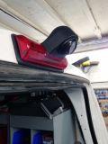 Câmera de inversão audio alternativa da luz de freio do carro com monitor