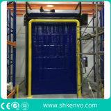 冷たい記憶装置のための自動熱絶縁されたフリーザー部屋の高速速く急速な圧延シャッタードア