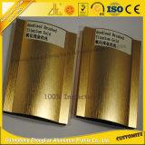 Produits en aluminium balayés brillants internationaux de vente chauds