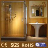 Panneau de mur matériel de la décoration parfaite WPC de salle de bains pour la décoration de STATION THERMALE