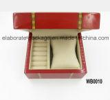 Nuovo contenitore di vigilanza di legno romantico della casella di memoria dei monili di disegno