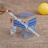 Venta al por mayor de China Regalo claro plástico de mascotas doblada caja del paquete con la impresión