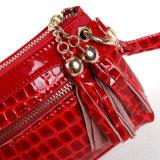 Wristlet Designer女性クラッチ・バッグのふさの夕方の方法Crossbady袋