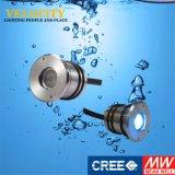Indicatori luminosi subacquei caldi approvati della fontana della piscina di RGB LED di vendita del Ce di DC24V