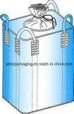 Sac intermédiaire flexible des récipients de grandes dimensions FIBC 1 tonne avec quatre Floop