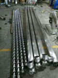 De Transportband van de Schroef van het Poeder van het flexibele Metaal met Twee Motoren