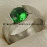 Joyería de la joyería anillo de titanio inoxidable de la manera Stainles