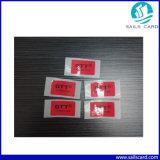 주문 Qr 부호 종이 Ntag213 NFC 스티커