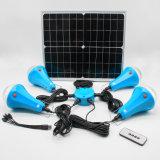 20W 30W 435lum Système d'alimentation solaire Hot Sale Solar Home Kit d'éclairage global le lever du soleil lumière solaire