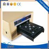 Hochgeschwindigkeits-UVflachbettgrößen-Leder-Drucker des drucker-A3 mit Kopf Dx5
