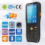 4G/3G/2G NFC de lectura RFID Handheld PDA Lector de códigos de barras terminales Android