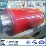 La couleur d'usine de PE/PVDF a enduit la bobine en aluminium