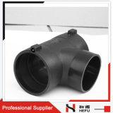 Electrofusion下水管のための3つの方法配管のプラスチック黒い不用な管付属品