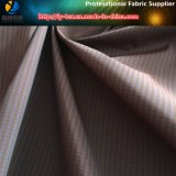 Tela teñida hilado de la verificación del poliester T400, tela teñida hilado del Spandex para la camisa (YD1132)