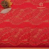 Têxteis de origem química francesa Rendas Jacquard Fabric para vestuário de senhora/vestir
