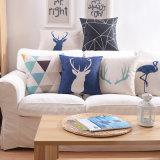 Stampa di tela del cotone inserto del cuscino da 18 pollici per la camera da letto