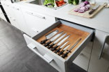 N & L Kitchen Design de plancher Céramique Fresh Color Display Furniture de cuisine