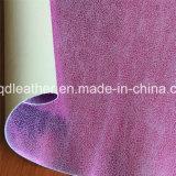 이중 면 PU 신발 가죽 (QDL-SP020)