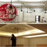 Polyester-Faser-Wollen für akustischer Hauptfilz-akustische Zudecke